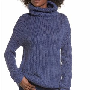 NWT Lovers + Friends Hawken Turtleneck Sweater
